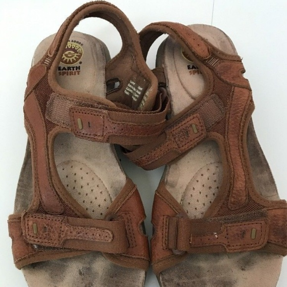 123df97006d6 Earth Spirit Shoes - EARTH SPIRIT Adelaide Adjustable Sandals